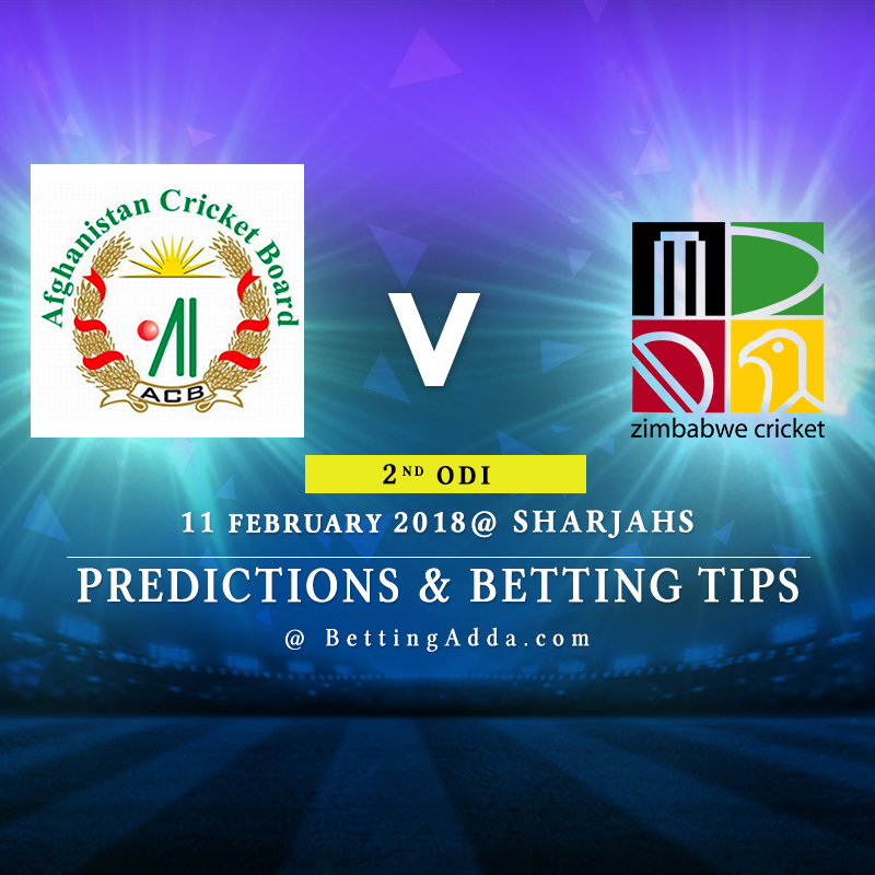 Afghanistan vs Zimbabwe 2nd ODI Prediction, Betting Tips & Preview