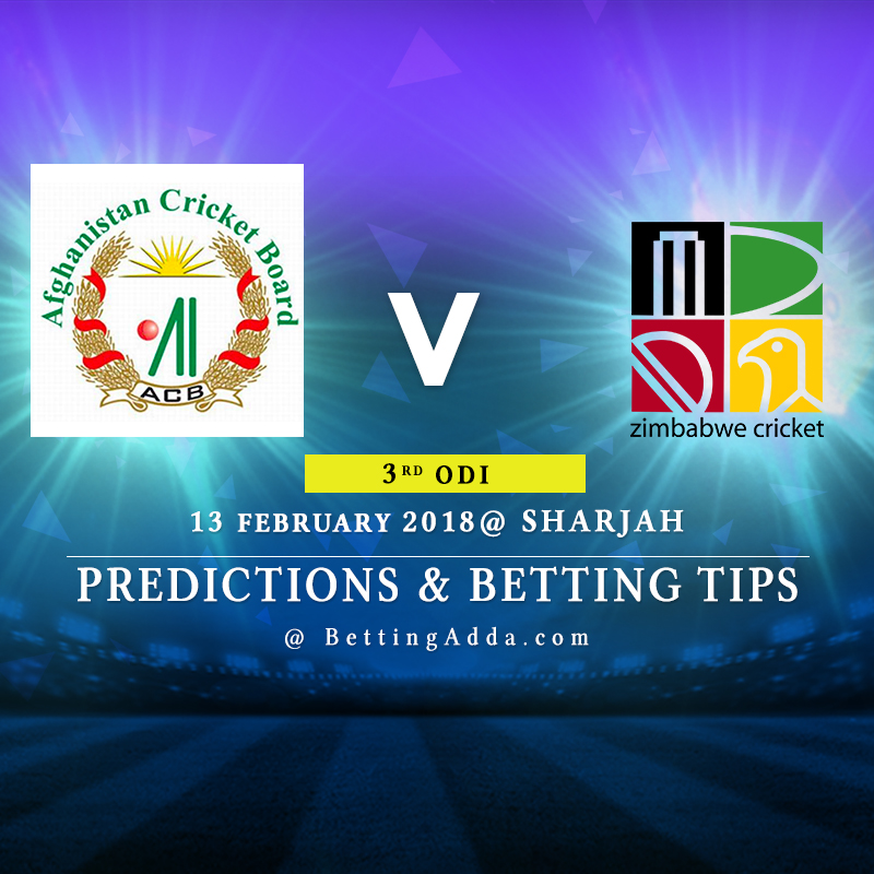 Afghanistan vs Zimbabwe 3rd ODI Prediction, Betting Tips & Preview