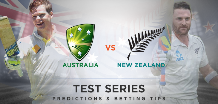 Australia v New Zealand Test Cricket Series 2015