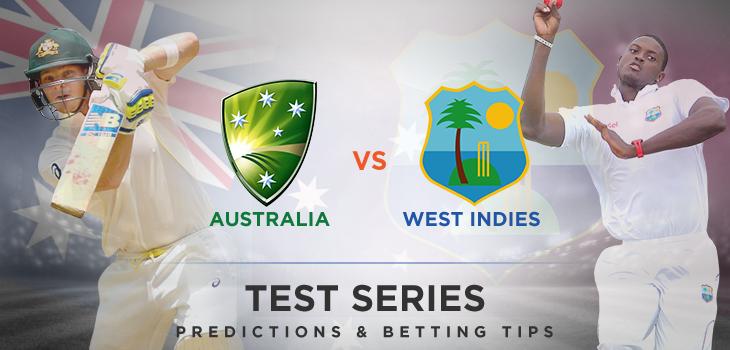 Australia v West Indies Test Cricket Series 2015 16