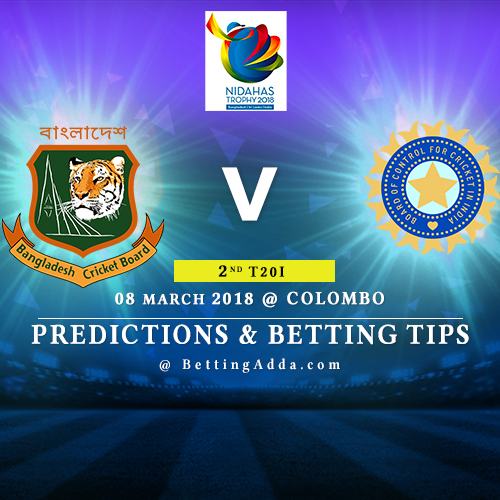 Bangladesh vs India 2nd Match Prediction, Betting Tips & Preview