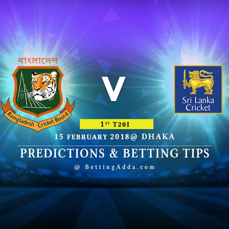 Bangladesh vs Sri Lanka 1st T20I Prediction, Betting Tips & Preview