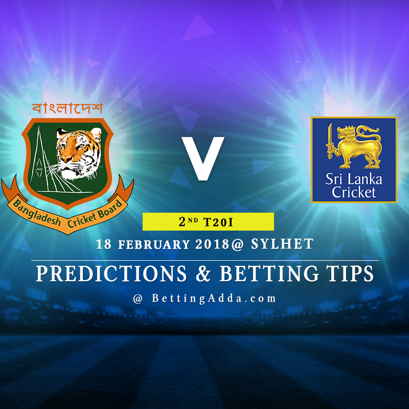 Bangladesh vs Sri Lanka 2nd T20I Prediction, Betting Tips & Preview