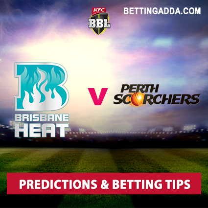 Brisbane Heat vs Perth Scorchers 23rd Match Prediction, Betting Tips & Preview