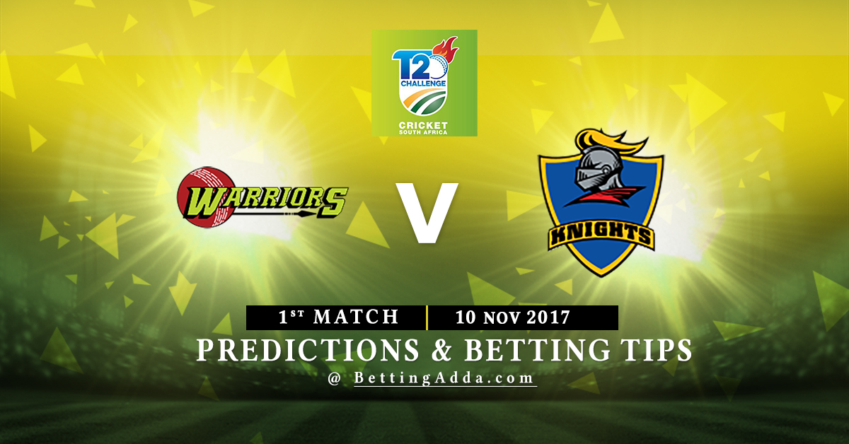 Warriors vs Knights 1st Match Prediction, Betting Tips & Preview
