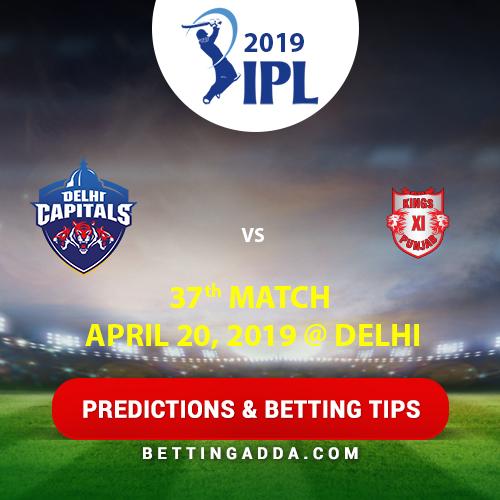 Delhi Capitals vs Kings XI Punjab 37th Match Prediction, Betting Tips & Preview