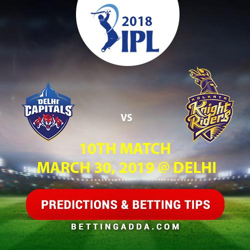 Delhi Capitals vs Kolkata Knight Riders 10th Match Prediction, Betting Tips & Preview