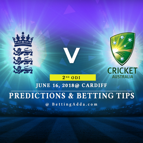 England vs Australia 2nd ODI Prediction, Betting Tips & Preview