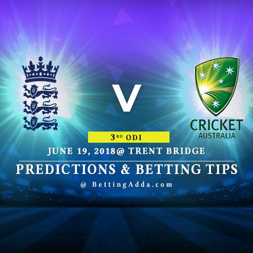 England vs Australia 3rd ODI Prediction, Betting Tips & Preview