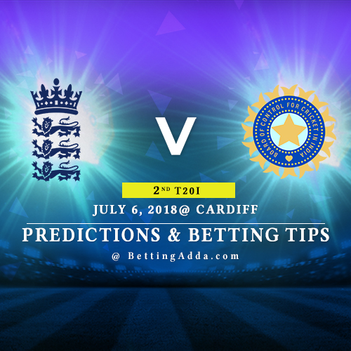 England vs India 2nd T20I Match Prediction, Betting Tips & Preview