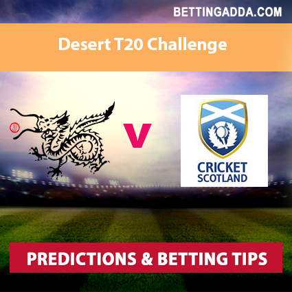 Hong Kong vs Scotland 1st Match Prediction, Betting Tips & Preview