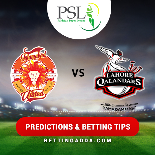 Peshawar Zalmi vs Islamabad United 21st Match Prediction, Betting Tips & Preview