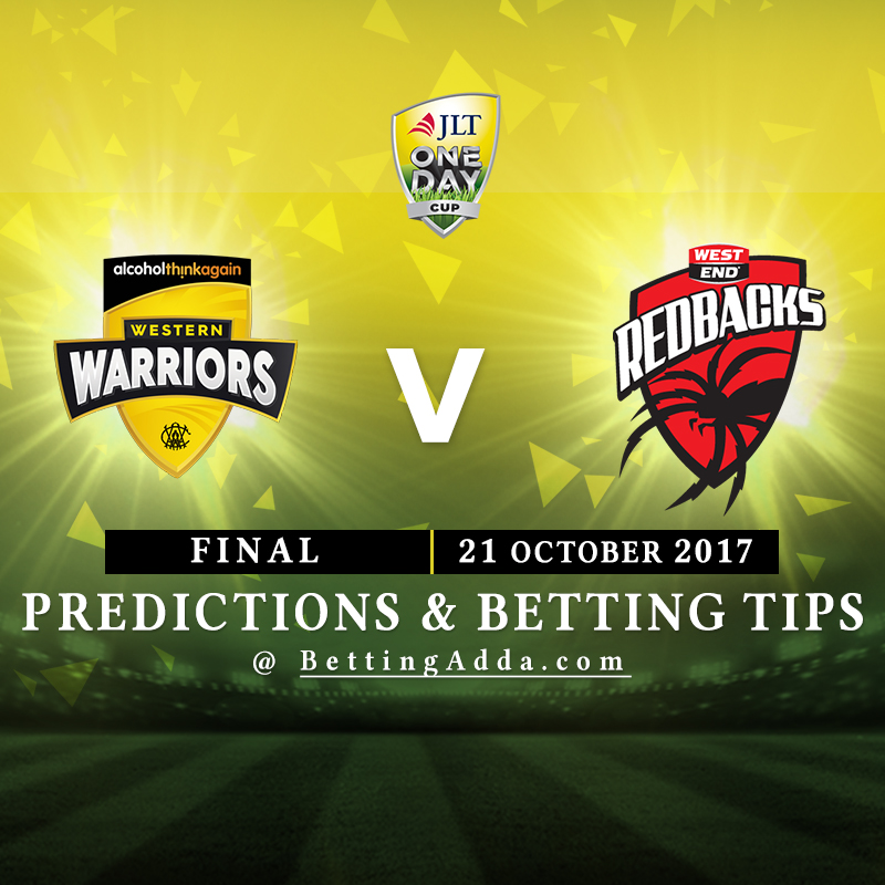 Western Australia vs South Australia Final Prediction, Betting Tips & Preview