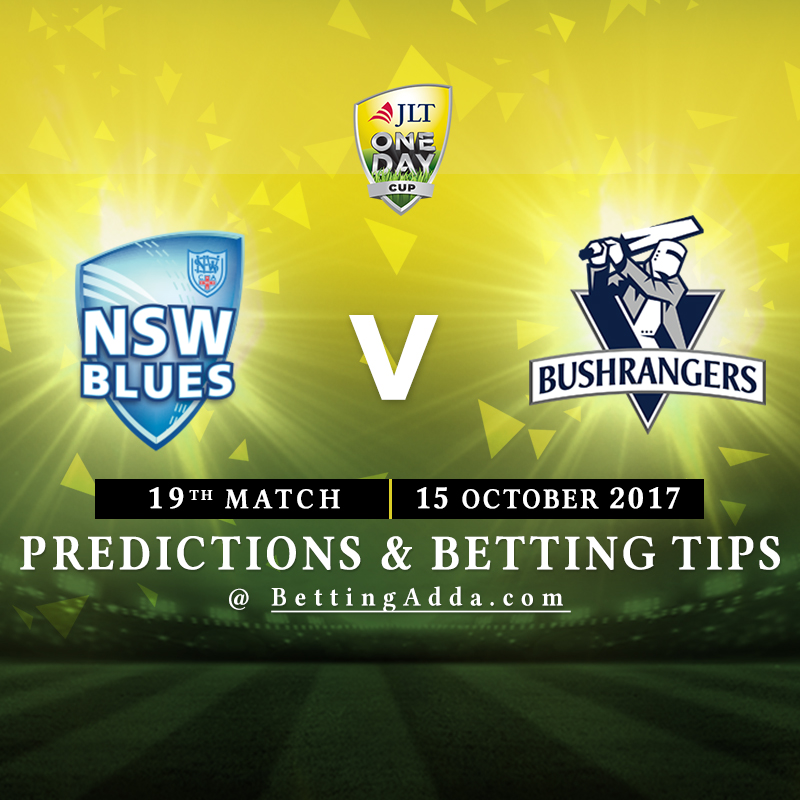 New South Wales vs Victoria 19th Match Prediction, Betting Tips & Preview