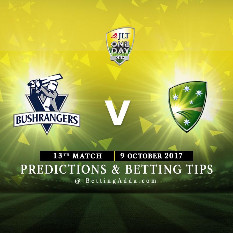 Victoria vs Cricket Australia XI 13th Match Prediction, Betting Tips & Preview