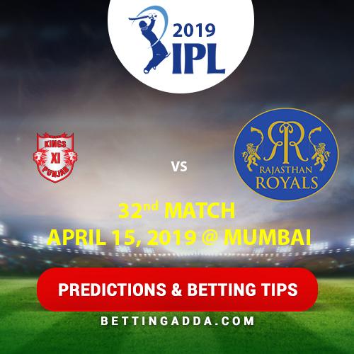 Kings XI Punjab vs Rajasthan Royals 32nd Match Prediction, Betting Tips & Preview