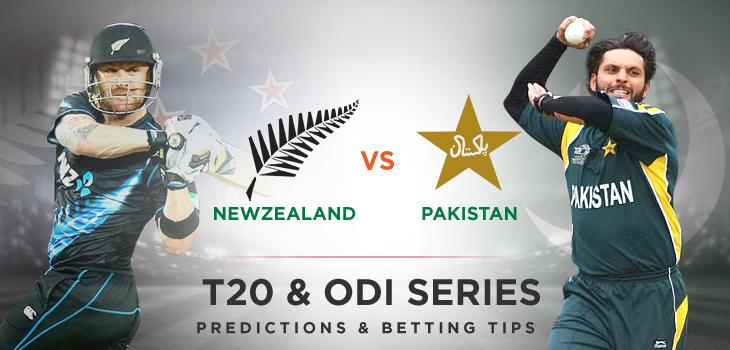 New Zealand v Pakistan T20 ODI Series 2016