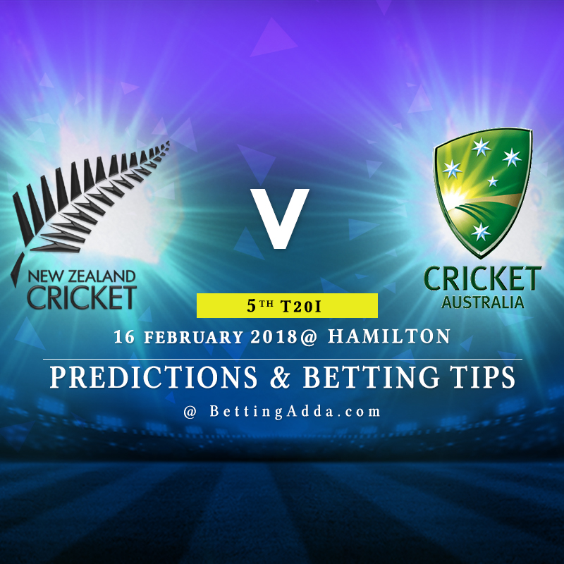 New Zealand vs Australia 5th Match Prediction, Betting Tips & Preview