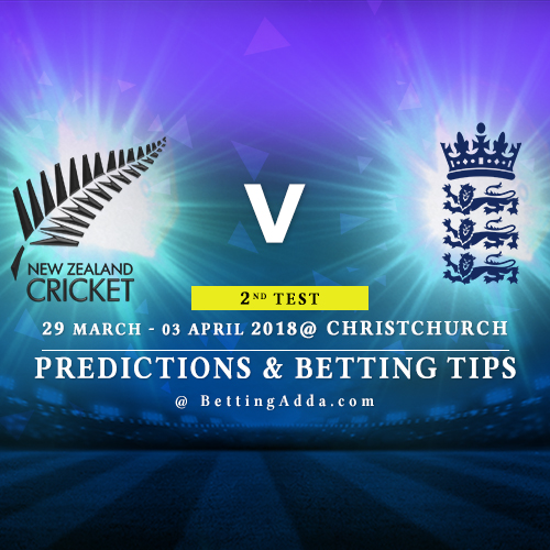 New Zealand vs England 2nd Test Match Prediction, Betting Tips & Preview