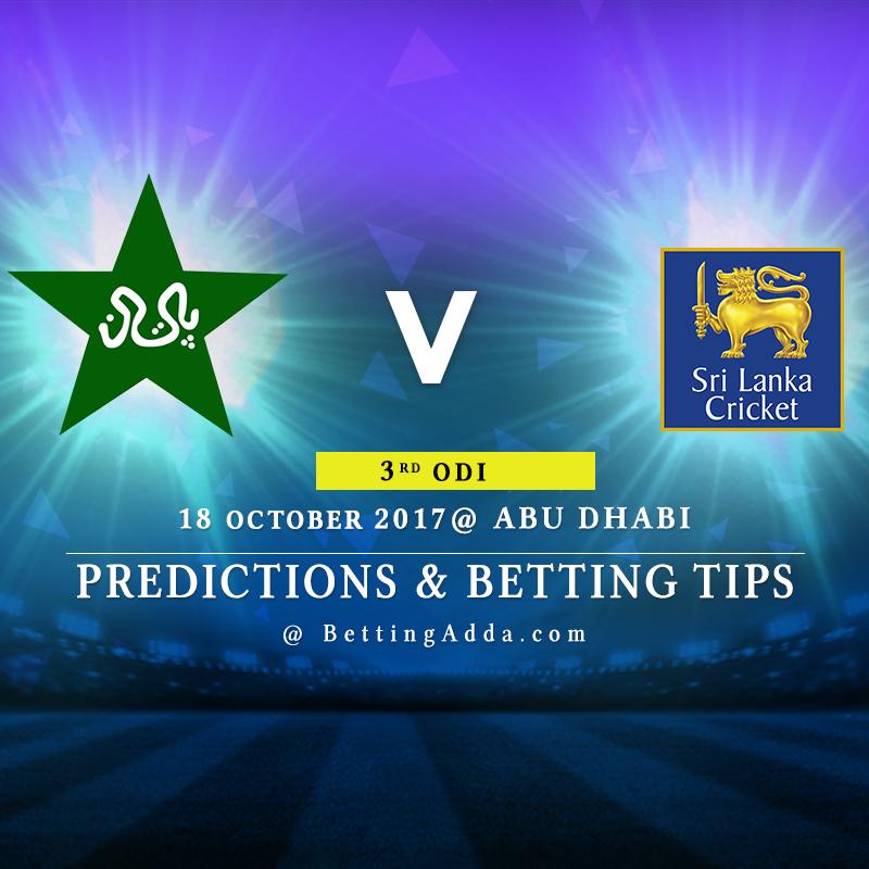 Pakistan vs Sri Lanka 3rd ODI Prediction, Betting Tips & Preview