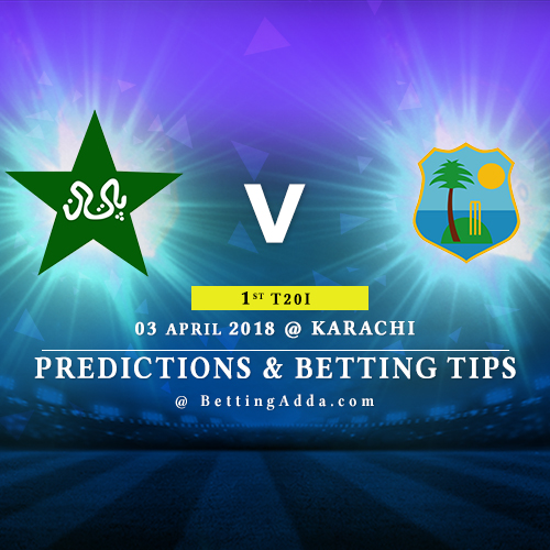 Pakistan vs West Indies 1st T20I Match Prediction, Betting Tips & Preview