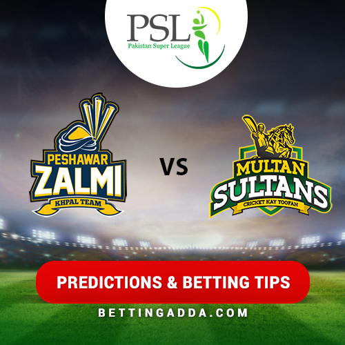 Peshawar Zalmi vs Multan Sultans 1st Match Prediction, Betting Tips & Preview