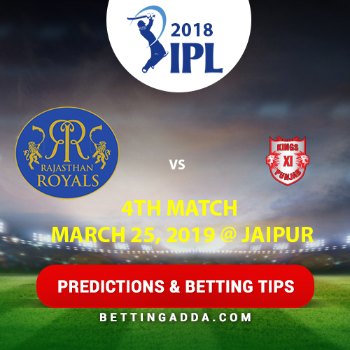 Rajasthan Royals vs Kings XI Punjab Prediction, Betting Tips & Preview
