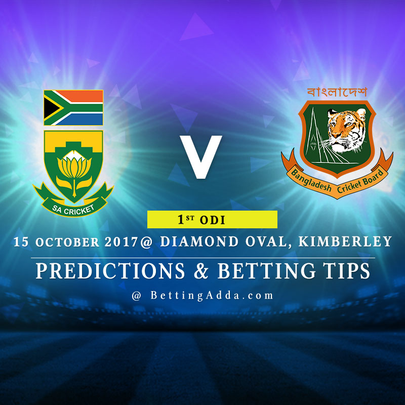 South Africa vs Bangladesh 1st ODI Prediction, Betting Tips & Preview