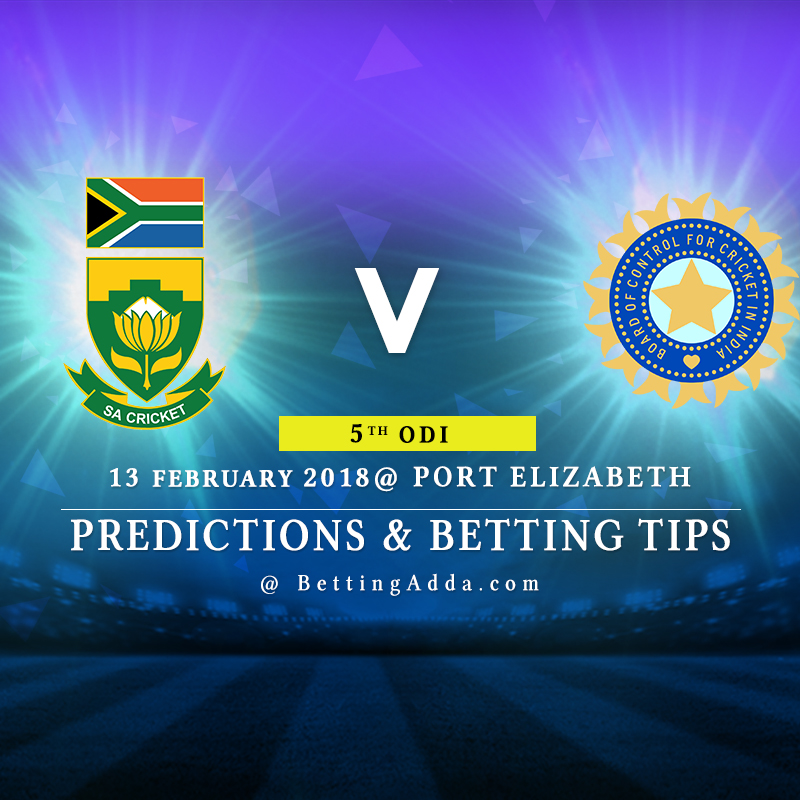 South Africa vs India 5th ODI Prediction, Betting Tips & Preview