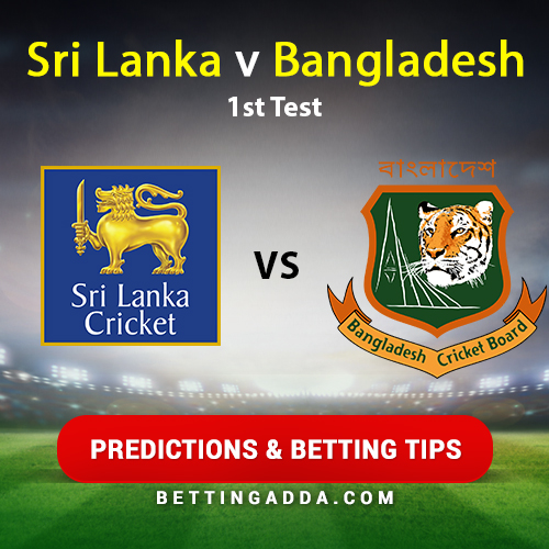 Sri Lanka vs Bangladesh 1st Test Prediction, Betting Tips & Preview