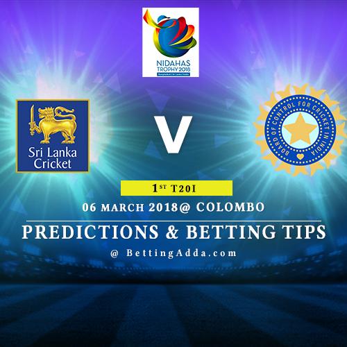 Sri Lanka vs India 1st Match Prediction, Betting Tips & Preview
