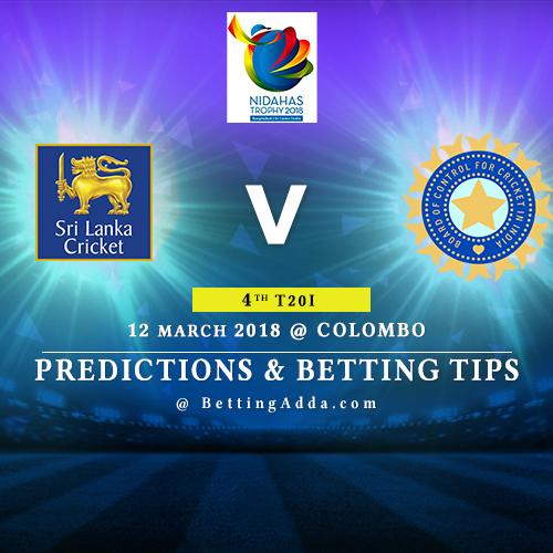 Sri Lanka vs India 4th Match Prediction, Betting Tips & Preview
