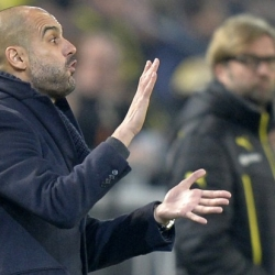 Who will win next Saturday's dugout battle at Allianz Arena: Guardiola or Klopp?