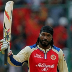 Chris Gayle - Darling of the crowd