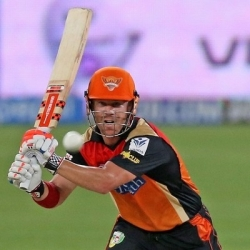 David Warner - Breezy innings of 91 vs. KKR
