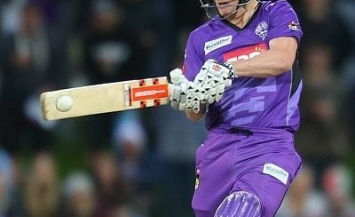 George Bailey - Leading Hobart Hurricanes from the front