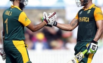 Hashim Amla and Faf du Plessis - Centuries vs. Ireland