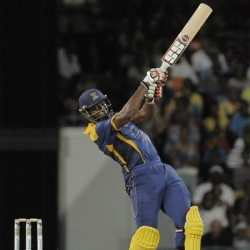 Kieron Pollard - Leading Barbados Tridents from the front