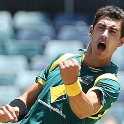 Mitchell Starc - Career best figures of 6-43 vs. India