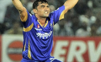 Pravin Tambe - Hat-trick against vs. KKR