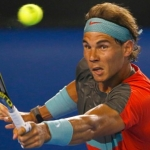 Rafael Nadal faces Gael Monfils  on the day 6 of Australian Open 2014