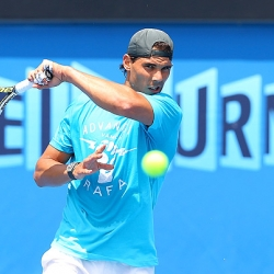 Rafael Nadal faces B. Tomic in the first round