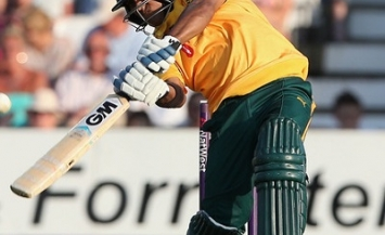 Samit Patel - Star all-rounder of Nottinghamshire