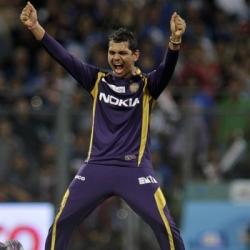 Sunil Narine - Will be missed badly in the final by KKR