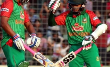 Tamim Iqbal and Mushfiqur Rahim - Match winning hundreds
