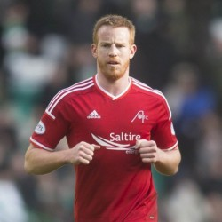 Adam Rooney netted Dons winner against Hearts from the spot