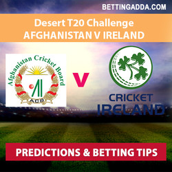 Afghanistan v Ireland Desert T20 Challenge Prediction and Betting Tips