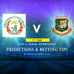 Afghanistan vs Bangladesh 1st T20I Match Prediction Betting Tips Preview