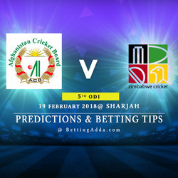 Afghanistan vs Zimbabwe 5th ODI Prediction Betting Tips Preview