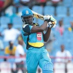 Andre Fletcher Fine batting for St Lucia Zouks